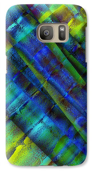 Galaxy Case featuring the photograph Layers Of Blue by David Pantuso