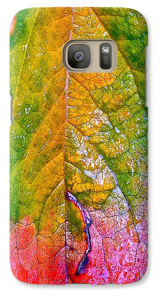 Galaxy Case featuring the photograph Leaf 2 by Bill Owen