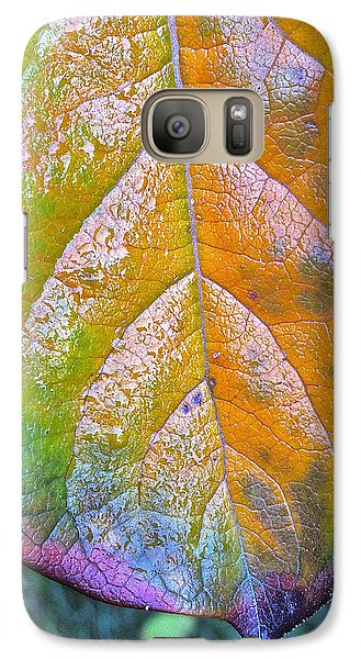 Galaxy Case featuring the photograph Leaf by Bill Owen