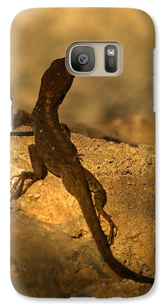 Leapin' Lizards Galaxy Case by Trish Tritz
