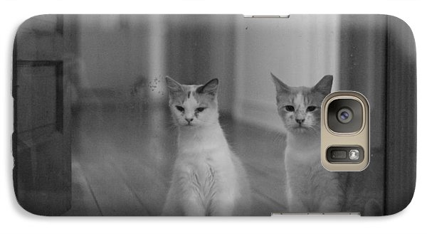 Galaxy Case featuring the photograph Left Behind by Rdr Creative