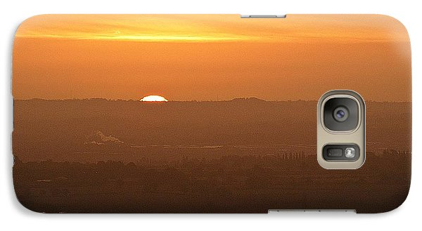 Galaxy Case featuring the photograph Leicestershire Sunrise by Linsey Williams