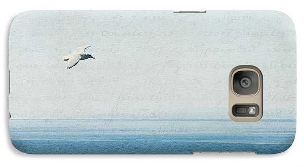 Galaxy Case featuring the photograph Letters From The Sky by Lisa Parrish