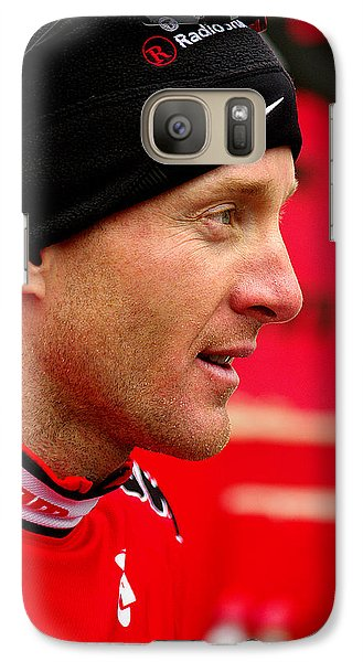 Galaxy Case featuring the photograph Levi Leipheimer by Vicki Pelham