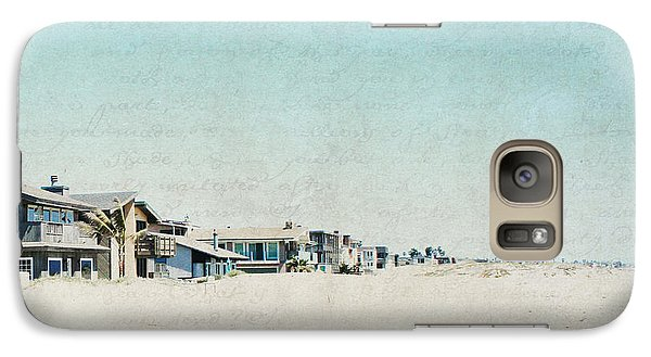 Galaxy Case featuring the photograph Letters From The Beach House - Square by Lisa Parrish