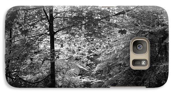 Galaxy Case featuring the photograph Light In The Woods by Kathleen Grace
