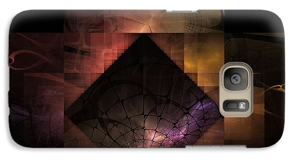Galaxy Case featuring the digital art Light Of The World by NirvanaBlues