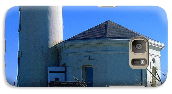 Galaxy Case featuring the photograph Lighthouse by Rory Sagner