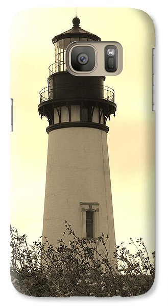 Galaxy Case featuring the photograph Lighthouse Tranquility by Athena Mckinzie