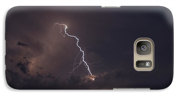 Galaxy Case featuring the photograph Lighting  by Alana Ranney