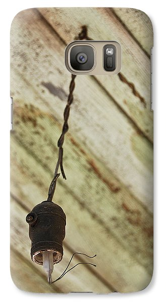 Galaxy Case featuring the photograph Lights Out by Shane Kelly