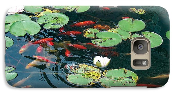 Galaxy Case featuring the photograph Lilly Dance by Dan Menta