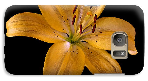 Galaxy Case featuring the photograph Lily by Karen Harrison