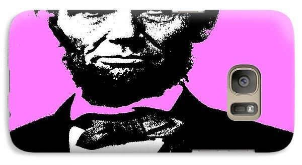 Galaxy Case featuring the digital art Lincoln by George Pedro