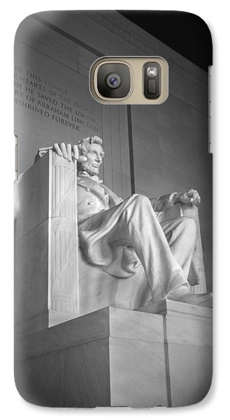 Lincoln Memorial Galaxy S7 Case - Lincoln Memorial  by Mike McGlothlen