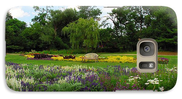 Galaxy Case featuring the photograph Lincoln Park Gardens by Lynn Bauer