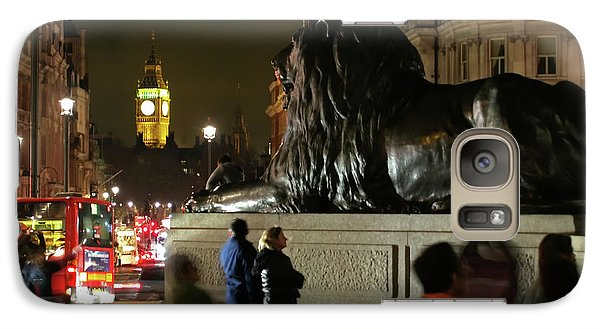 Galaxy Case featuring the photograph Lion An Ben by Pedro Cardona