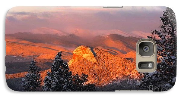 Galaxy Case featuring the photograph Lion's Head II by Angelique Olin