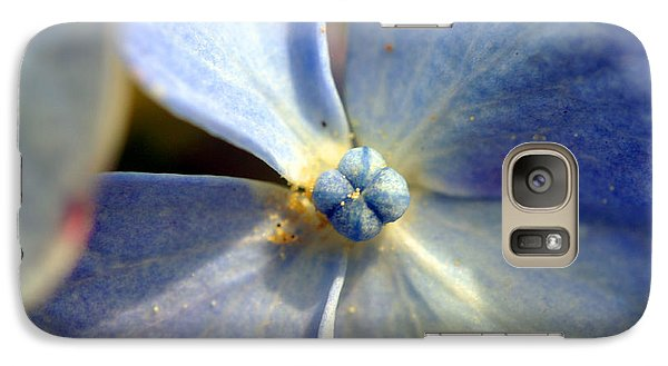 Galaxy Case featuring the photograph Little Blue Flower by Kay Lovingood