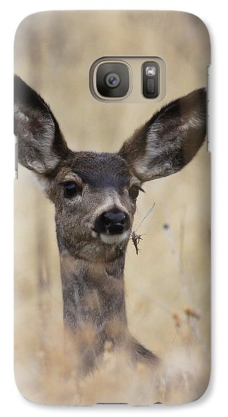 Galaxy Case featuring the photograph Little Fawn by Steve McKinzie