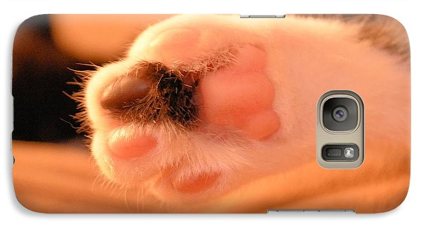 Galaxy Case featuring the photograph Little Foot by Melissa Goodrich