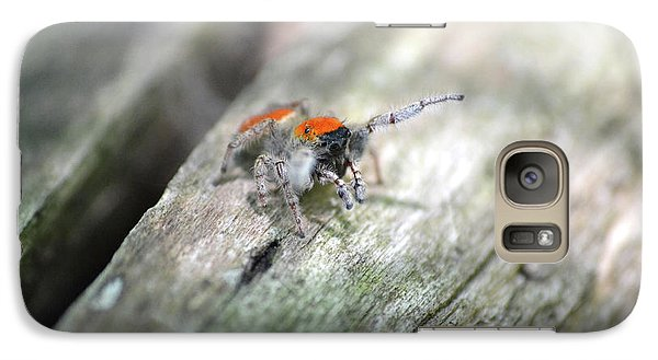 Galaxy Case featuring the photograph Little Jumper by JD Grimes