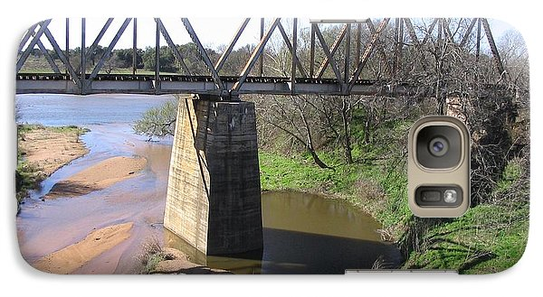 Galaxy Case featuring the photograph Little Llano Creek by Mark Robbins