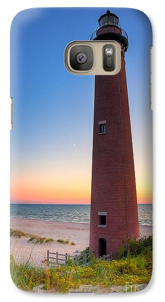 Galaxy Case featuring the photograph Little Sable Point Light Station by Larry Carr