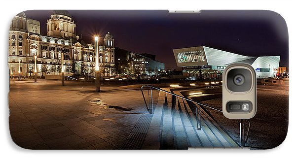 Galaxy Case featuring the photograph Liverpool - The Old And The New  by Beverly Cash