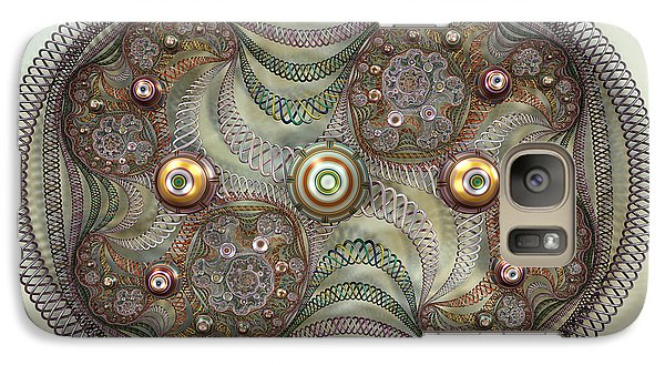 Galaxy Case featuring the digital art Lives Of A Cell  by Manny Lorenzo