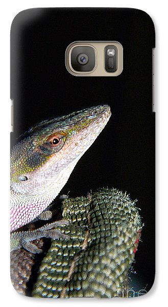 Galaxy Case featuring the photograph Lizard by Ester  Rogers