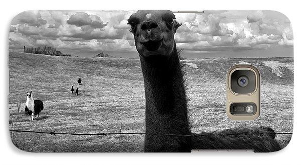 Llama Galaxy S7 Case - Llama by Cale Best