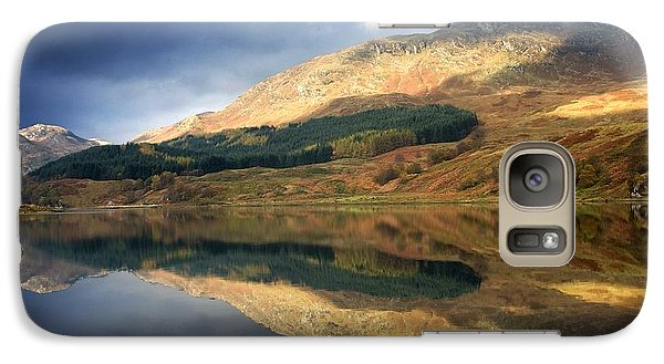 Galaxy Case featuring the photograph Loch Lobhair, Scotland by John Short