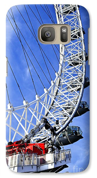 London Eye Galaxy S7 Case - London Eye by Elena Elisseeva