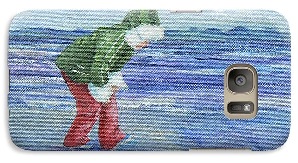 Galaxy Case featuring the painting Look At The Reflections by Terry Taylor