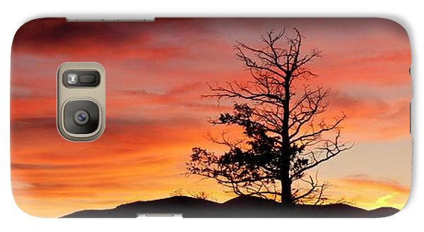 Galaxy Case featuring the photograph Lookin' Out My Front Door by Angelique Olin