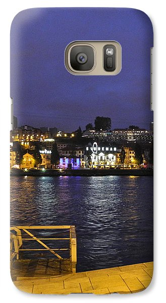 Galaxy Case featuring the photograph Looking At Something Interesting by Kirsten Giving