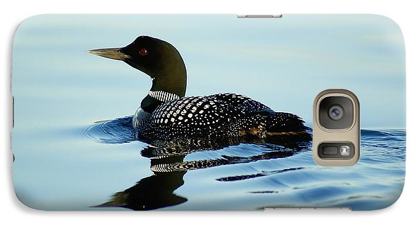 Galaxy Case featuring the photograph Loon by Steven Clipperton
