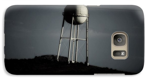 Galaxy Case featuring the photograph Lopsided Tower by Jessica Shelton