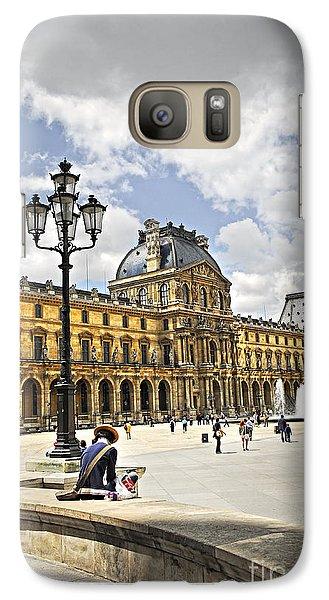 Louvre Museum Galaxy S7 Case by Elena Elisseeva