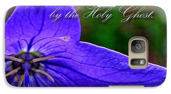 Galaxy Case featuring the photograph Love Of God In Our Hearts by Larry Bishop