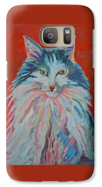 Galaxy Case featuring the painting Lovely Star by Francine Frank
