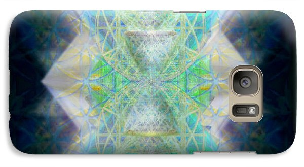 Galaxy Case featuring the digital art Love's Chalice From The Druid Tree Of Life by Christopher Pringer
