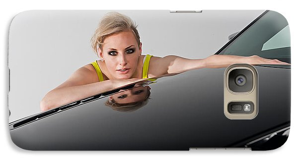 Galaxy Case featuring the photograph Low Reflection by Jim Boardman