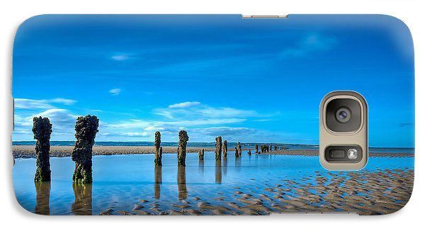Galaxy Case featuring the photograph Low Tide by Beverly Cash