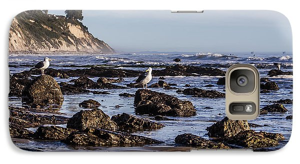 Galaxy Case featuring the photograph Low Tide by Marta Cavazos-Hernandez