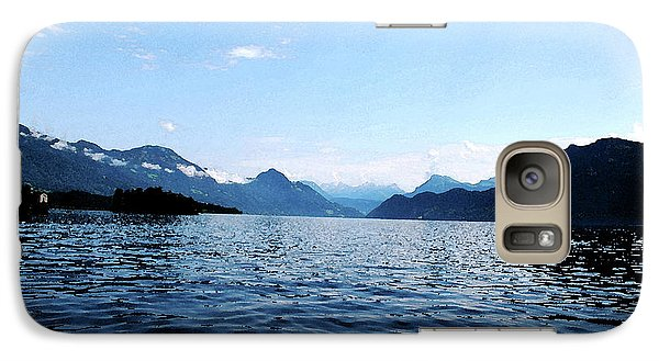 Galaxy Case featuring the photograph Lucerne Lake by Pravine Chester