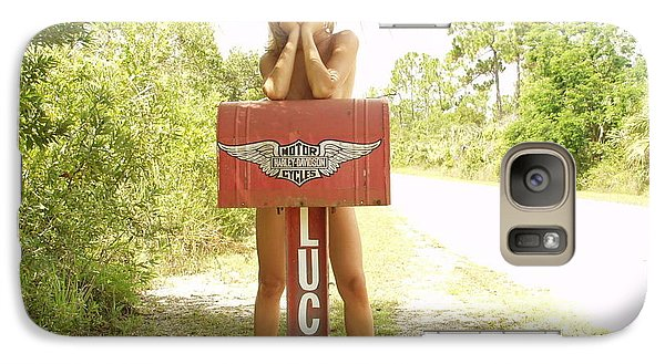 Galaxy Case featuring the photograph Mailbox 073 by Lucky Cole