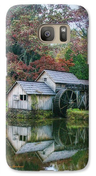 Galaxy Case featuring the photograph Mabry Mill by Joan Bertucci
