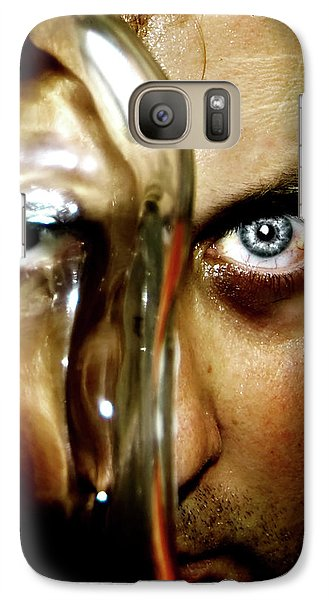Galaxy Case featuring the photograph Mad Man by Pedro Cardona
